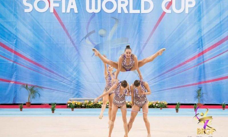 художествена гимнастика 2021 София
