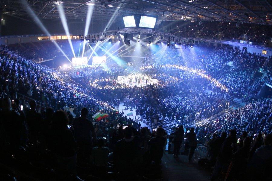 Kubrat Pulev vs Furi box