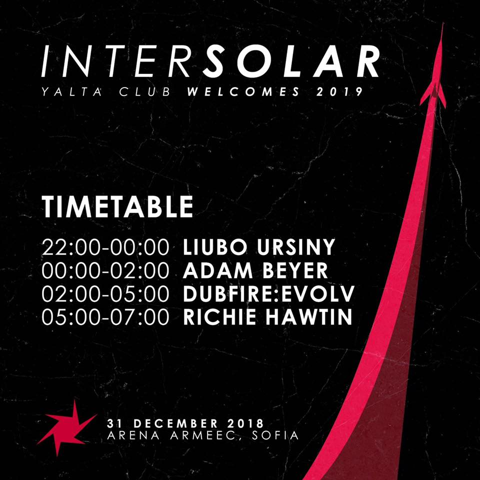 intersolar2019 time table